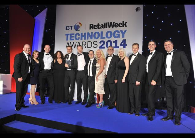 Shop Direct won the BT Grand Prix Winner of Winners award